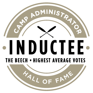 Camp Administrator Hall of Fame Inductee: The Beech - Highest Average Votes